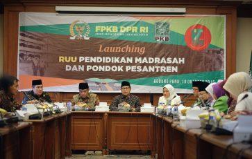 Ketum PKB: RUU Pesantren dan Madrasah Perjuangan FPKB Mengembangkan Pesantren