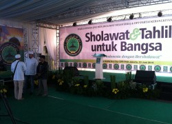Sholawat dan Tahlil untuk Bangsa oleh PKB live TV9