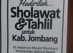 Hadirilah Majelis Pesona Jombang di Masjid Mustawa Mojosongo Malam Ini